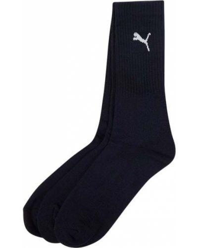 Niebieskie skarpetki sportowe bawełniane Puma