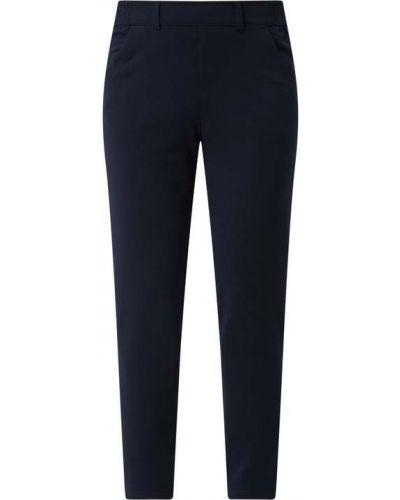 Spodnie z wiskozy - niebieskie Tom Tailor Denim