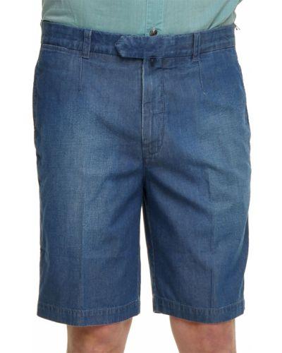 Голубые шорты хлопковые Ermenegildo Zegna