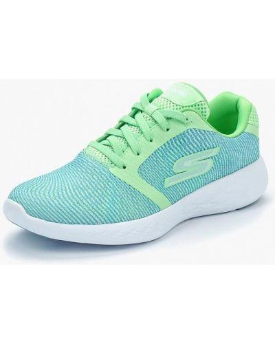 Бирюзовые кроссовки Skechers