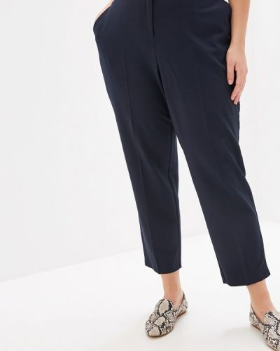 Классические брюки синие Dorothy Perkins Curve