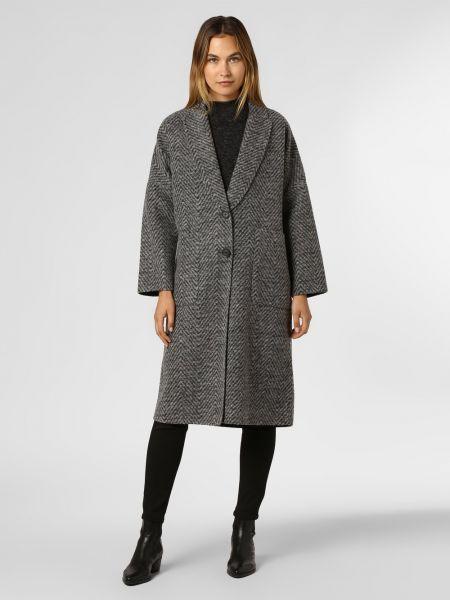 Szary płaszcz wełniany Ipuri