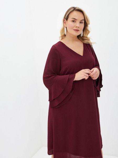 Платье - красное Evans