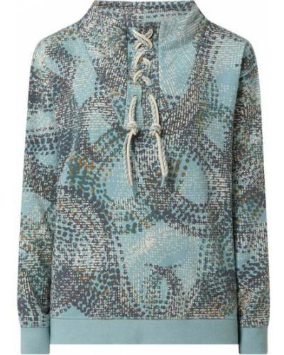 Bluza bawełniana - turkusowa S.oliver Red Label