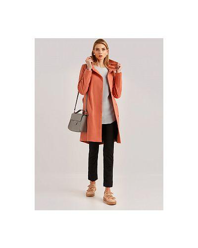 Пальто с капюшоном - розовое Finn Flare