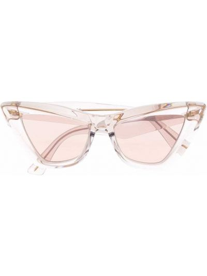 Солнцезащитные очки - розовые Bottega Veneta