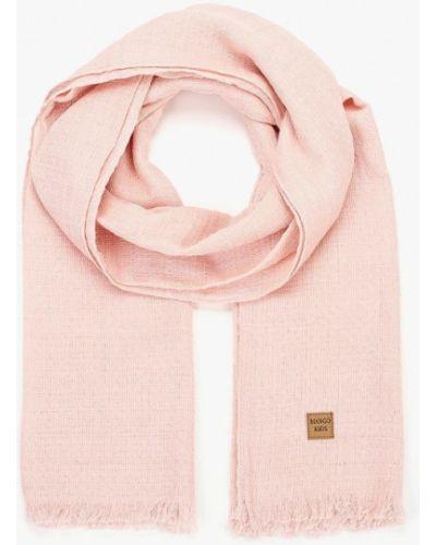 Розовый шарф Mango Kids