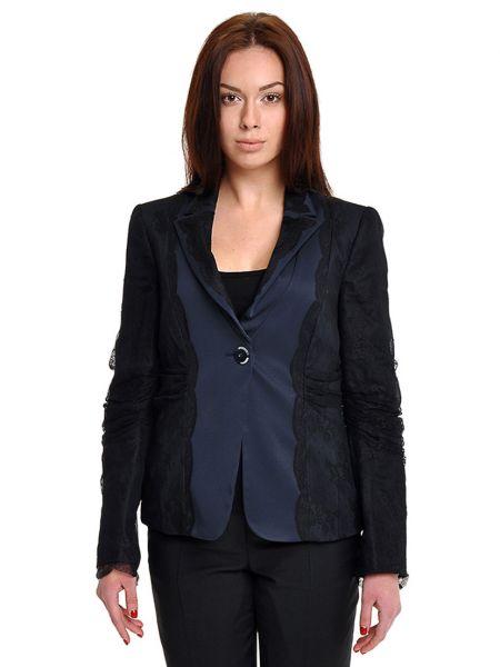 Пиджак из полиэстера - черный Armani Collezioni