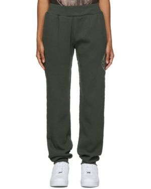Черные брюки стрейч с воротником с манжетами Telfar