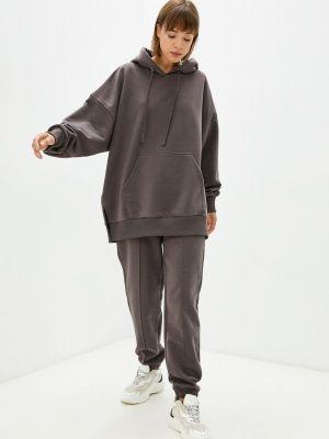 Коричневый спортивный спортивный костюм Ko'msi