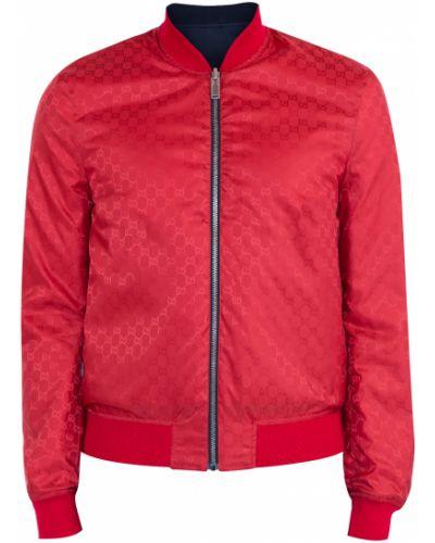 Куртка с воротником-стойкой свободная Gucci