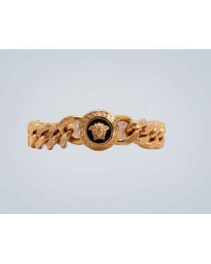 Золотистый желтый браслет Versace