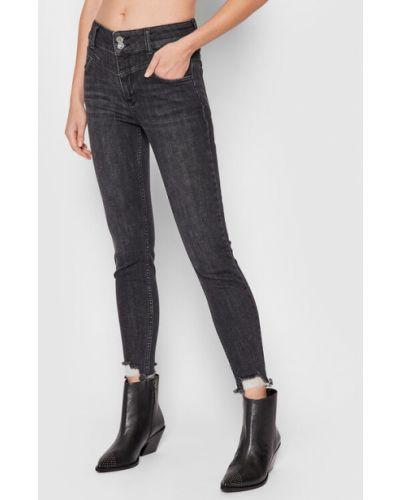 Czarne mom jeans Fracomina