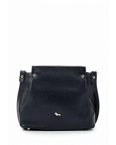 Кожаный сумка синий Labbra