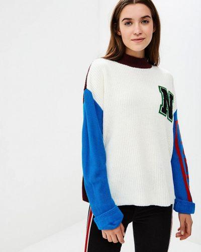 Белый свитер Noisy May