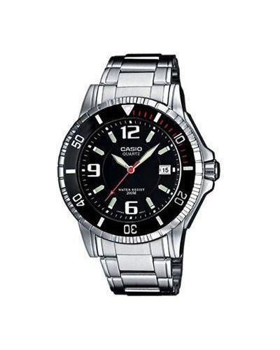Часы водонепроницаемые с подсветкой кварцевые Casio