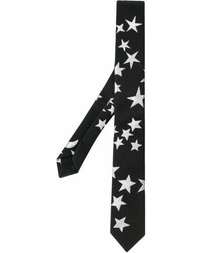 Со звездами черный галстук P.a.r.o.s.h.