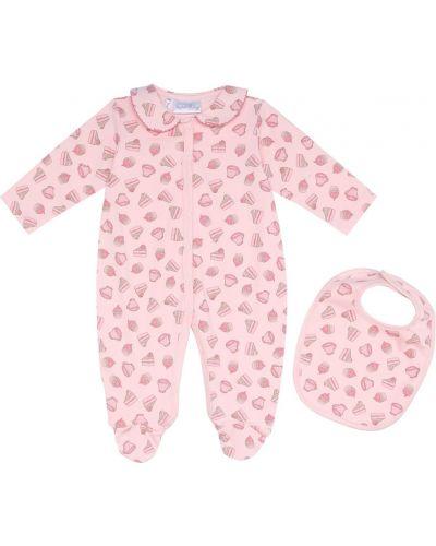 Bawełna różowy bawełna śliniak Rachel Riley