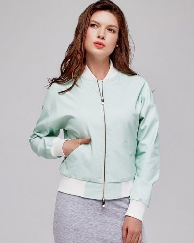 Куртка белая бирюзовый White Pony Ladieswear