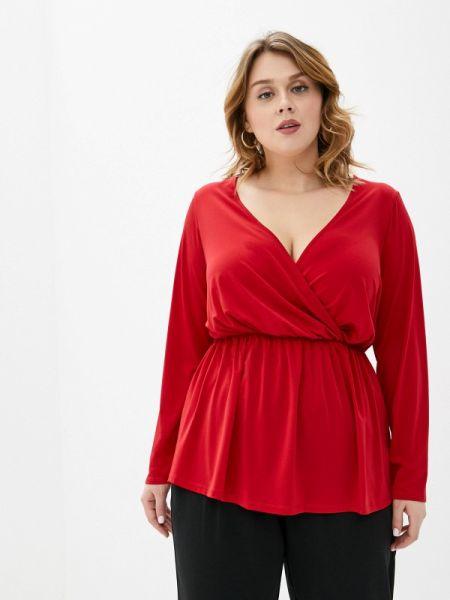 Блузка красная весенний Dorothy Perkins Curve