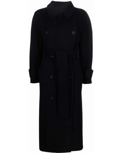 Шерстяное пальто - черное Mackage
