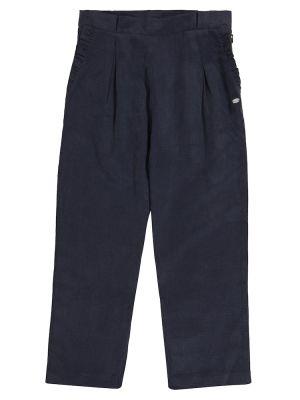 Льняные повседневные синие брюки Tartine Et Chocolat