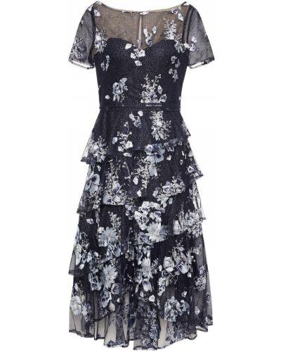 Платье из фатина Marchesa Notte