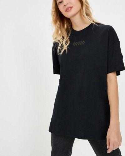 Черная футболка Vans