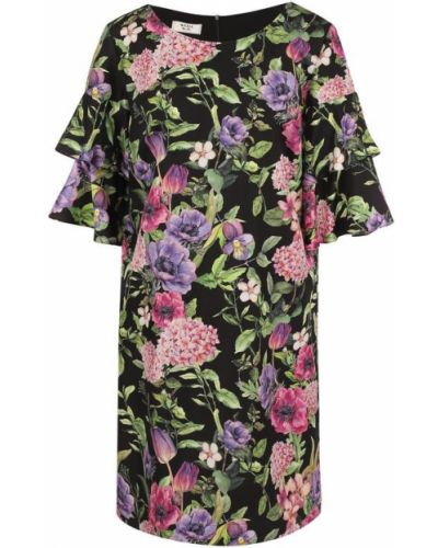 Платье мини с цветочным принтом прямое Weill