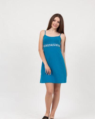 Платье с поясом с цветочным принтом с кокеткой Lovitton