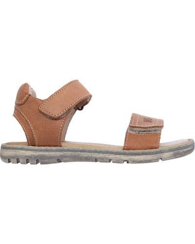 Сандалии кожаный коричневый Walk Safari