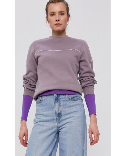 Fioletowa bluza długa z kapturem z długimi rękawami Nike Sportswear