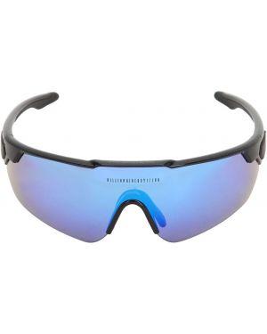Czarne okulary z printem Italia Independent X Bbc