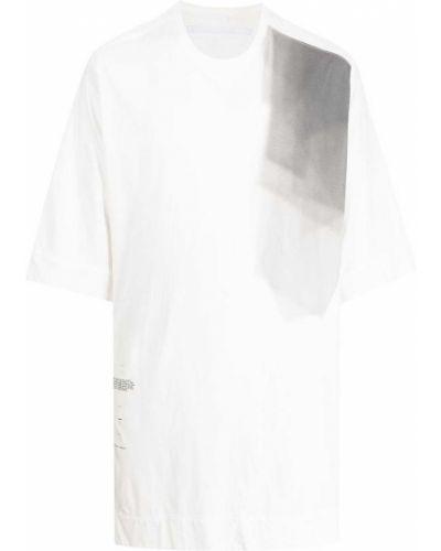 Biała t-shirt z printem Julius