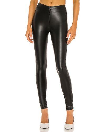 Zawężony czarny spodnie palazzo z kieszeniami w połowie kolana Rag & Bone
