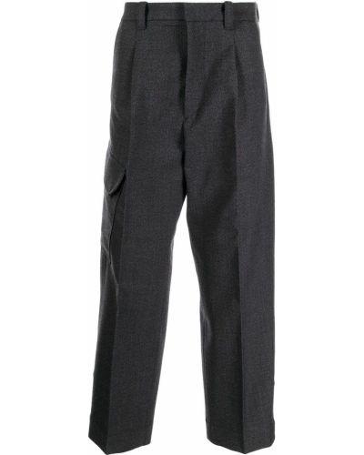 Spodnie z paskiem Oamc