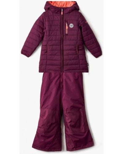 Фиолетовая утепленная куртка Gusti