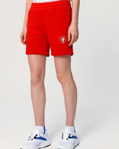 Спортивные шорты - красные Zasport