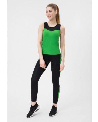 Костюмный зеленый спортивный костюм Go Fitness