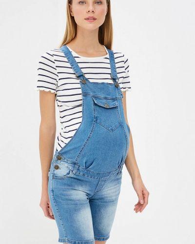 Голубой джинсовый комбинезон очаровательная адель