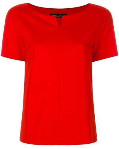 Оранжевая блузка прямая Marc Cain