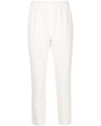 Укороченные брюки - белые Adam Lippes