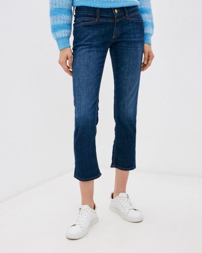 Синие прямые джинсы Closed