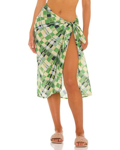 Zielony pareo bawełniany Faithfull The Brand