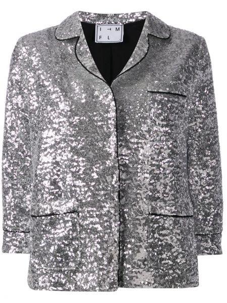 Куртка серебряная укороченная In The Mood For Love