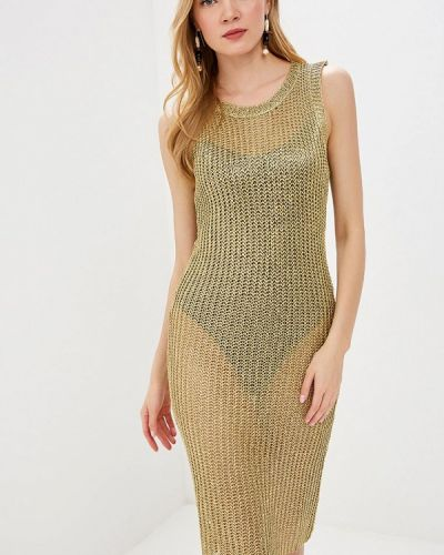 Платье весеннее золотой Care Of You