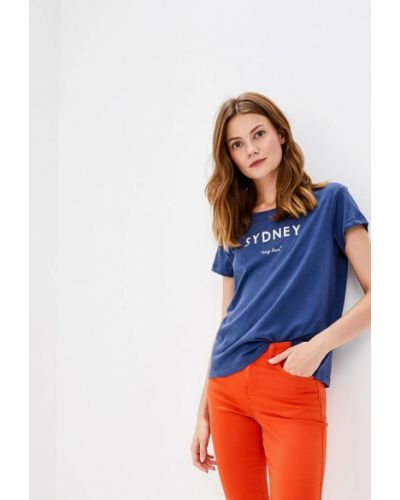 Синяя футбольная футболка Broadway