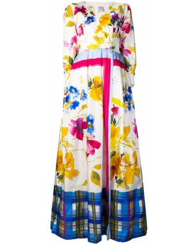 Однобортное платье макси на молнии Sara Roka