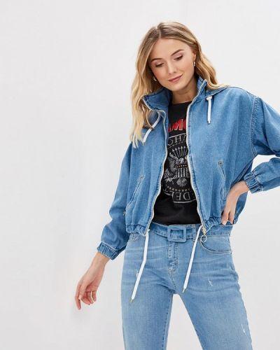 Джинсовая куртка - голубая Miss Miss By Valentina