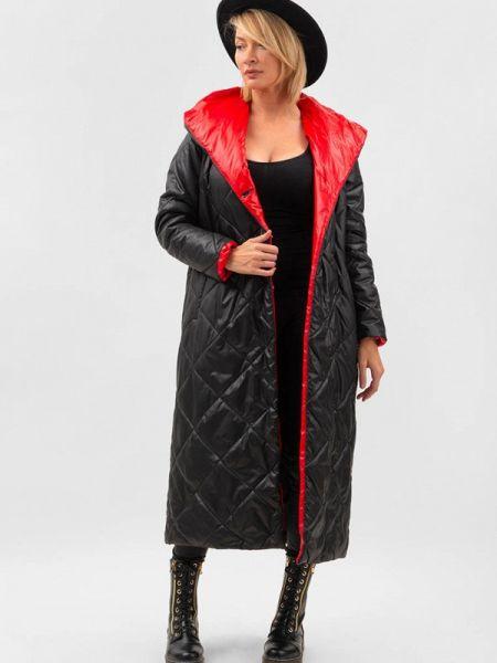 Теплая черная утепленная куртка Doctor E